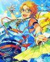 (Sunlit Sunflowers) Makoto Yuuki Frameless Bloomed