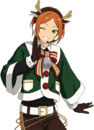 (Red-nosed Reindeer) Hinata Aoi Full Render Bloomed