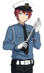 (Security Defense) Tsukasa Suou Full Render Bloomed