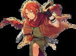 (Wandering Tsujigiri) Leo Tsukinaga Full Render Bloomed