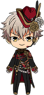 Koga Oogami Blood Banquet Outfit chibi