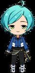Kanata Shinkai RYUSEITAI uniform chibi