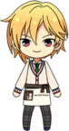 Nazuna Nito Student Uniform (Winter + Cat Cafe Apron) chibi