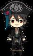 Rei Sakuma Pirate chibi