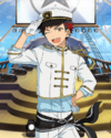 (Admiring Navy Uniform) Tetora Nagumo Frameless Bloomed