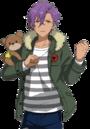(Show Mascot) Adonis Otogari Full Render Bloomed