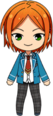 Hinata Aoi Student Uniform chibi