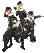 UNDEAD Anime Wallpaper Transparent