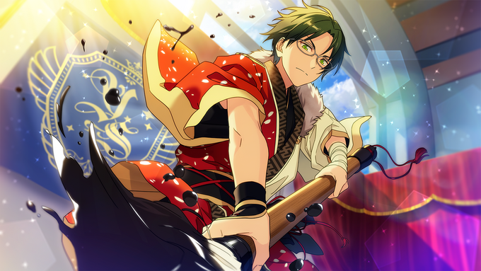 (Ambushing New Year) Keito Hasumi CG