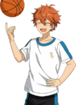 (Basketball Guidance) Subaru Akehoshi Full Render Bloomed