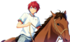 (Horse Riding and Pride) Tsukasa Suou Full Render