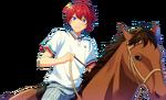 (Horse Riding and Pride) Tsukasa Suou Full Render