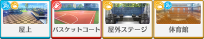 Tsukasa Suou Birthday Course locations