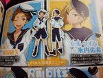 Ensemble Stars Start Book Mitsuru Nazuna