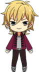 Kaoru Hakaze Own Clothes Autumn chibi