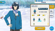 Tsumugi Aoba Student Uniform (Winter + Scarf + Snow) Outfit