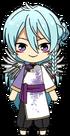 Wataru Hibiki Zodiac Rooster Outfit chibi