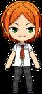 Hinata Aoi Summer Uniform chibi