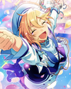 (Tears and Smiles) Nazuna Nito Frameless Bloomed