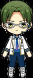 Keito Hasumi ES Idol Uniform chibi