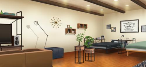 Seisou Hall Dorm Room (Tatsumi & Koga's Room) Full