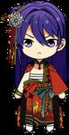 Souma Kanzaki Hanafuda Outfit chibi