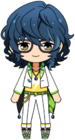 Tsumugi Aoba Switch Uniform chibi