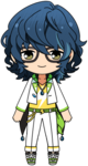 Tsumugi Aoba Switch Uniform chibi
