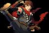 (Burning Ninja) Chiaki Morisawa Full Render Bloomed