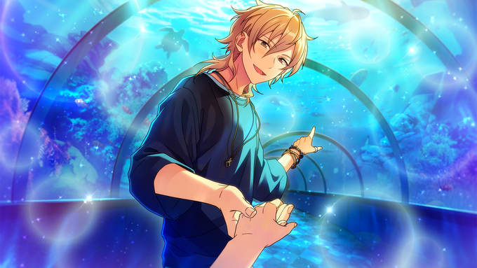 (The Sea and You) Kaoru Hakaze CG