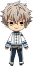 Koga Oogami Winter CM Outfit chibi