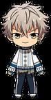 Koga Oogami Winter CM Outfit chibi