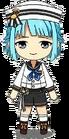 Hajime Shino Unit Costume (Tantan) chibi