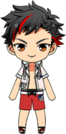 Tetora Nagumo Pool Event Outfit chibi