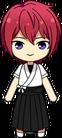 Tsukasa Suou Archery chibi