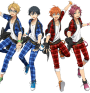 Trickstar Anime Wallpaper Transparent