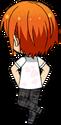 Hinata Aoi Summer Uniform (Wet) back
