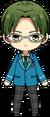 Keito Hasumi Student Uniform chibi