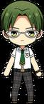 Keito Hasumi Summer Uniform chibi