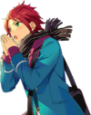 Mao Isara Winter Scarf Dialogue Render