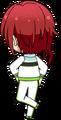 Natsume Sakasaki ES Switch Practice chibi back