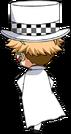 Arashi Narukami Phantom Thief Chibi Back