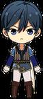 Hokuto Hidaka Romeo Outfit chibi