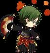 Keito Hasumi Quarrel Festival chibi back