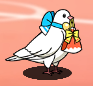 Star Medal Dove White Day with Gift
