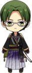 Keito Hasumi Scroll of the Elements chibi