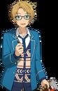 (Sharing Lunch) Makoto Yuuki Full Render Bloomed