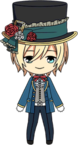 Eichi Tenshouin Mad Hatter Chibi Ultimate
