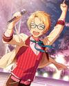 (Dancing Sakura Petals) Makoto Yuuki Frameless Bloomed