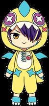 Shinobu Sengoku Strawberry Monster Chibi